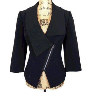 The Limited Cropped Black Career Blazer -0065